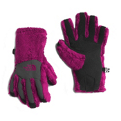 The North Face Denali Thermal Etip Girls Gloves, Roxbury Pink, medium