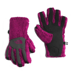 The North Face Denali Thermal Etip Girls Gloves, Roxbury Pink, 256