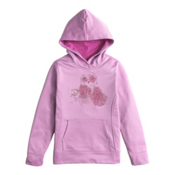 The North Face Girls Surgent Pullover Hoodie, Lupine, medium