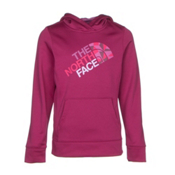 The North Face Girls Surgent Pullover Hoodie, Roxbury Pink, medium
