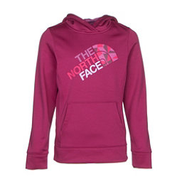 The North Face Girls Surgent Pullover Hoodie, Roxbury Pink, 256