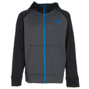 The North Face Boys Surgent Full Zip Hoodie, Graphite Grey, medium