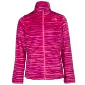 The North Face Osolita Girls Jacket, Roxbury Pink Wavy Stripe, medium