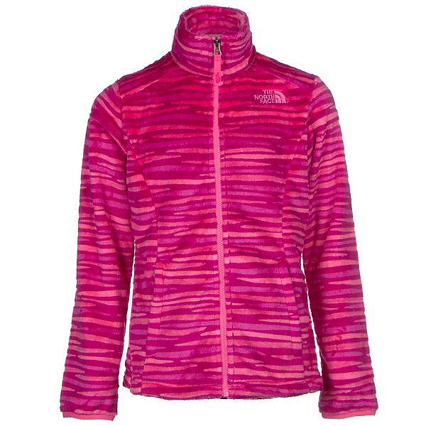 The North Face Osolita Girls Jacket, Roxbury Pink Wavy Stripe, 600