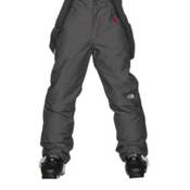 The North Face Snowquest Suspender Kids Ski Pants, TNF Medium Grey Heather, medium