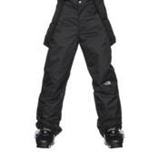 The North Face Snowquest Suspender Kids Ski Pants, TNF Black, medium