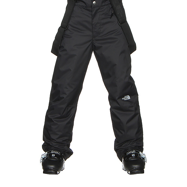 The North Face Snowquest Suspender Kids Ski Pants, TNF Black, 600
