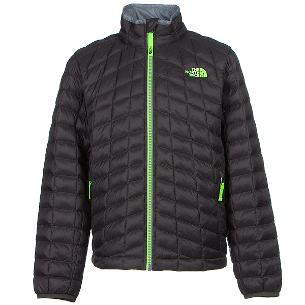 The North Face Boys ThermoBall Full Zip Jacket, Graphite Grey, 600