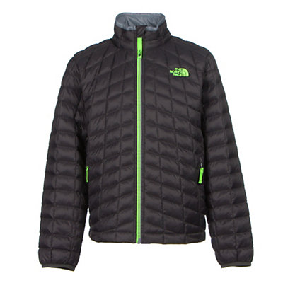 The North Face Boys ThermoBall Full Zip Jacket, Graphite Grey, viewer