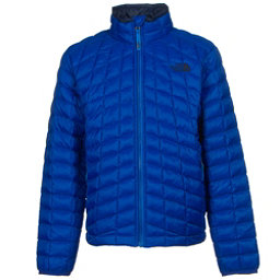 The North Face Boys ThermoBall Full Zip Jacket, Honor Blue, 256
