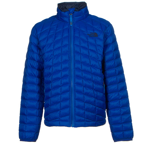 The North Face Boys ThermoBall Full Zip Jacket, Honor Blue, 600