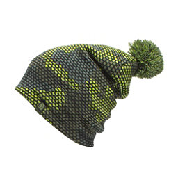The North Face Youth Ski Tuke Kids Hat, Chive Green Mesh Camo, 256