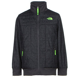 The North Face Boys Reversible Yukon Jacket, Graphite Grey Pixelated Heathe, 256