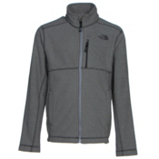 The North Face Cap Rock Full Zip Boys Jacket, Graphite Grey Heather, medium