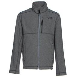 The North Face Cap Rock Full Zip Boys Jacket, Graphite Grey Heather, 256