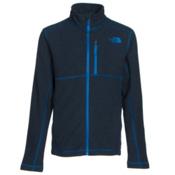 The North Face Cap Rock Full Zip Boys Jacket, Cosmic Blue Heather, medium