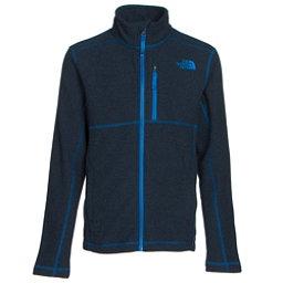 The North Face Cap Rock Full Zip Boys Jacket, Cosmic Blue Heather, 256