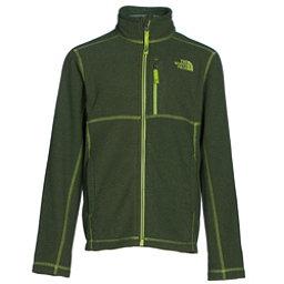 The North Face Cap Rock Full Zip Boys Jacket, Terrarium Green Heather, 256