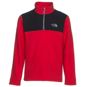 The North Face Glacier 1/4 Zip Boys Midlayer, TNF Red, medium