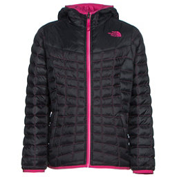The North Face Reversible ThermoBall Hoodie Girls Midlayer, TNF Black, 256