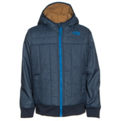 The North Face Reversible Yukon Hoodie Toddler Jacket, Cosmic Blue Denim Print, medium
