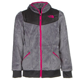The North Face Oso Hoodie Girls Midlayer, Metallic Silver, 256