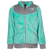 The North Face Oso Hoodie Girls Midlayer, Ice Green, medium