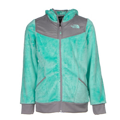 The North Face Oso Hoodie Girls Midlayer, Ice Green, viewer