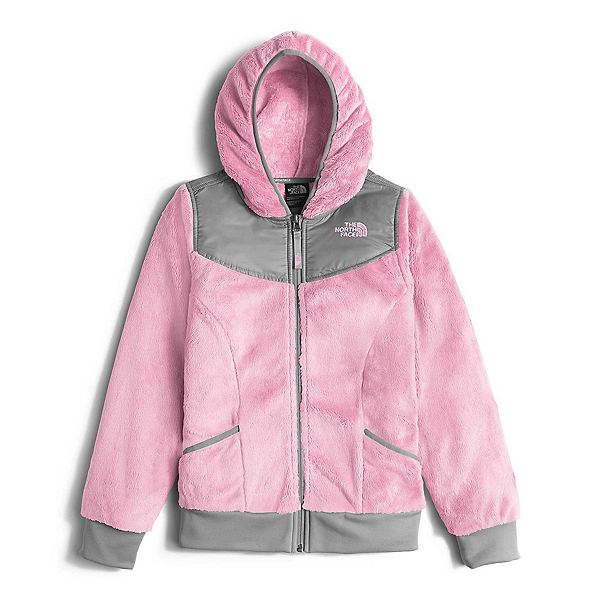 The North Face Oso Hoodie Girls Midlayer (Previous Season), Coy Pink, 600