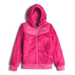 The North Face Oso Hoodie Girls Midlayer (Previous Season), Cabaret Pink, 256