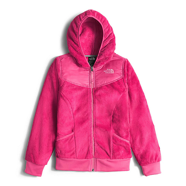 The North Face Oso Hoodie Girls Midlayer, Cabaret Pink, 600