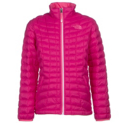 The North Face Girls ThermoBall Full Zip Jacket, Cabaret Pink, medium