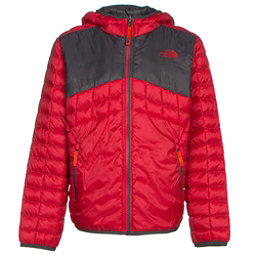The North Face Reversible ThermoBall Hoodie Boys Midlayer, TNF Red, 256