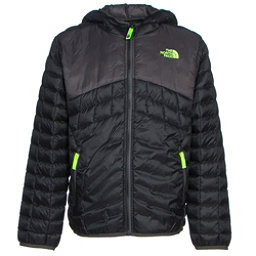 The North Face Reversible ThermoBall Hoodie Boys Midlayer, TNF Black, 256