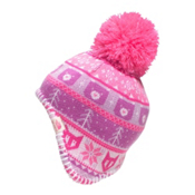 The North Face Baby Faroe Beanie Toddlers Hat, Cha Cha Pink-Lupine, medium