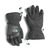 The North Face Youth Revelstoke Etip Kids Gloves, Graphite Grey-Ice Green, medium