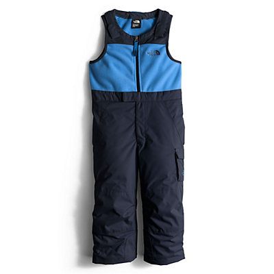 The North Face Insulated Bib Toddler Boys Ski Pants, TNF Black, viewer