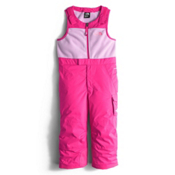 The North Face Insulated Bib Toddler Girls Ski Pants, Cabaret Pink, medium
