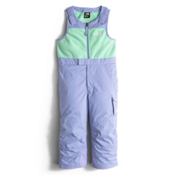 The North Face Insulated Bib Toddler Girls Ski Pants, Grapemist Blue, medium