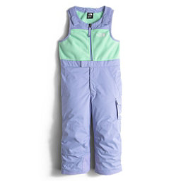 The North Face Insulated Bib Toddler Girls Ski Pants (Previous Season), Grapemist Blue, 256