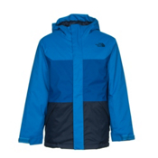 The North Face Brayden Insulated Boys Ski Jacket, Jake Blue, medium