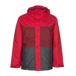 The North Face Brayden Insulated Boys Ski Jacket, TNF Red, 256