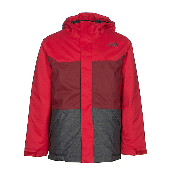 The North Face Brayden Insulated Boys Ski Jacket (Previous Season), TNF Red, 600
