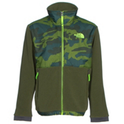 The North Face Denali Boys Jacket, Terrarium Green Mesh Camo, medium