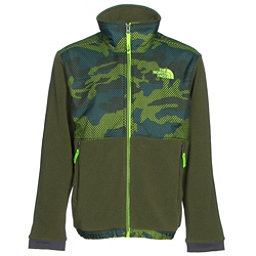 The North Face Denali Boys Jacket, Terrarium Green Mesh Camo, 256