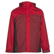 The North Face Boundary Triclimate Boys Ski Jacket, TNF Red, medium