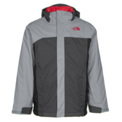 The North Face Boundary Triclimate Boys Ski Jacket, Mid Grey, medium