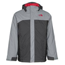 The North Face Boundary Triclimate Boys Ski Jacket, Mid Grey, 256