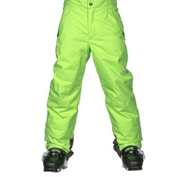 The North Face Freedom Insulated Kids Ski Pants, Safety Green, 256