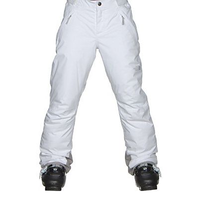 The North Face Freedom Insulated Girls Ski Pants, TNF White, viewer